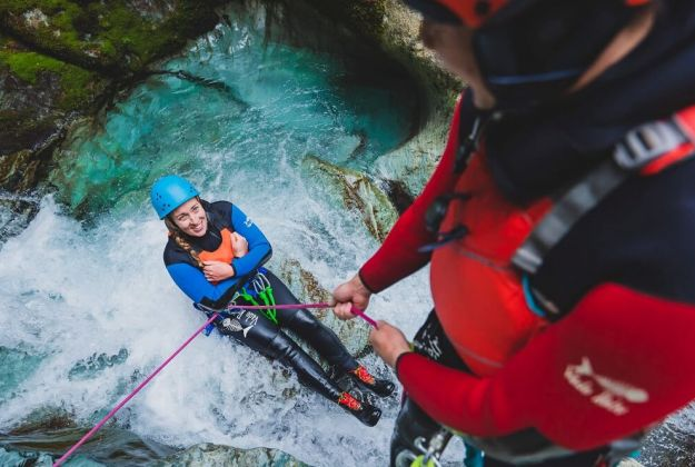 Canyoning in Glenorchy